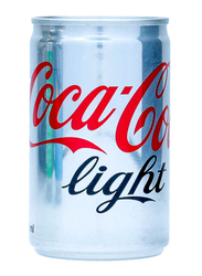 Coca Cola Light Soft Drink Can, 150ml