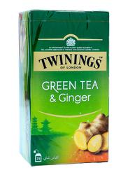 Twinings Ginger Green Tea, 25 Tea Bags x 3.6g