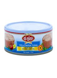 Al Alali Yellowfin Tuna in Sunflower Oil, 170 grams