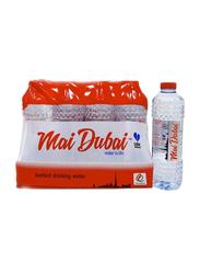 Mai Dubai Drinking Water Bottle, 12 Bottles x 500ml