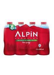 Alpin Mineral Spring Water, 12 Bottles x 500ml