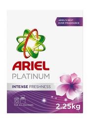 Ariel Platinum Intense Fresh Laundry Powder Detergent, 2.25 Kg