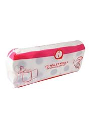 Aswaaq Toilet Rolls, 10 Rolls x 500 Sheets x 2 Ply