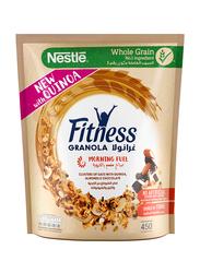 Nestle Fittness Quinoa Chocolate & Nuts Granola Cereal Bag, 450g
