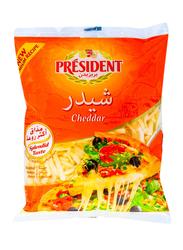 President Shredded Cheddar Cheese, 200g