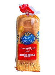 Lusine Sliced White Bread, 600g