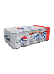 Pepsi Diet Soft Drink, 15 Cans x 155ml