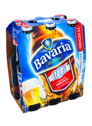 Bavaria Premium Original Non Alcoholic Beer, 6 Bottles x 330ml