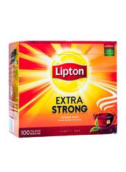 Lipton Extra Strong Black Tea, 100 Tea Bags x 2.2g