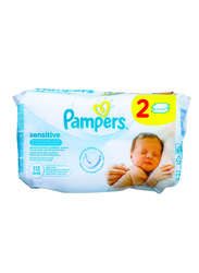 Pampers 112-Sheet Sensitive Baby Wipes