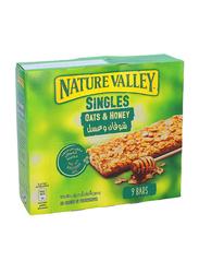 Nature Valley Singles Oats & Honey Bars, 9 Packs x 21g
