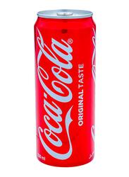 Coca Cola Original Soft Drink Can, 330ml