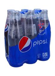 Pepsi Shrink Wrap Soft Drink, 6 Bottles x 250ml