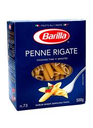 Barilla Penne Rigate Semolina Pasta, 500g
