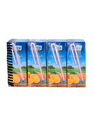 Lacnor Essentials Orange Juice Drink, 8 x 180ml