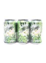 Mirinda Green Apple Soft Drink, 6 Cans x 355ml