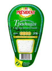 President 9% Fat Traditional Cottage Cheese, 250g