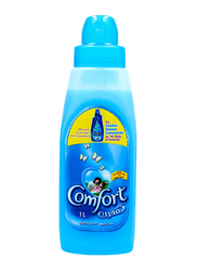 Comfort Spring Dew Scent Liquid Fabric Conditioner, 1 Liter