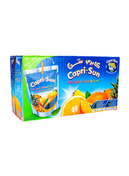 Capri Sun Mixed Fruit Juice Drink, 10 x 200ml