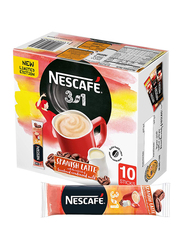 Nescafe 3-in-1 Spanish Latte Coffee, 10 Sticks x 22g