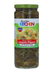American Kitchen Sliced Jalapeno Peppers Pickle, 453g