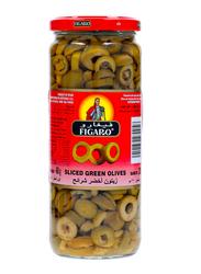 Figaro Slice Green Olives, 230g