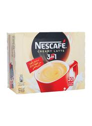 Nescafe 3-in-1 Creamy Latte Instant Coffee Mix, 20 Sticks x 22.4g