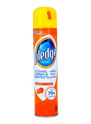 Pledge Orange Spray Furniture Cleaner, 250ml
