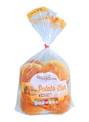 Modern Bakery Cluster Potato Bun Bread, 8 Pieces, 380g