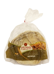Royal Bakers Brown Bran Arabic Bread, 4 Pieces, Small