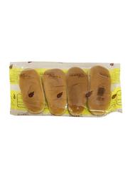 Modern Bakery Plain Roll Sandwich Bread, 4 Pieces