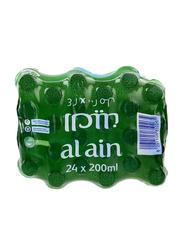 Al Ain Mineral Water, 24 Bottles x 200ml