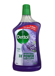 Dettol Lavender 3X Antibacterial Power Floor Cleaner, 900ml