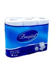 Sanita Bouquet Toilet Paper Rolls, 6 Rolls