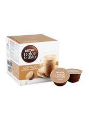 Nescafe Dolce Gusto Cortado Espresso Macchiato Instant Coffee, 16 Capsules x 100.8g
