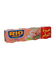 Rio Mare Canned Light Meat Tuna in Olive Oil, 4 Cans x 80g