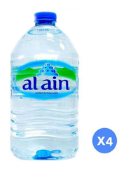 Al Ain Mineral Water, 4 Bottles x 5 Liter