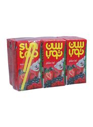 Suntop Berry Mix Juice Drink, 6 Pieces x 125ml
