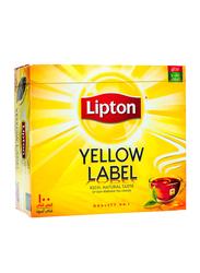 Lipton Yellow Label Black Tea, 100 Tea Bags x 2g