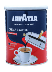 Lavazza Crema E Gusto Ground Coffee Tin, 250g