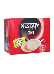 Nescafe 3-in-1 Classic Instant Coffee Mix, 24 Sticks x 20g