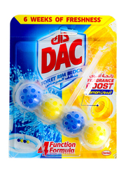 DAC Power Active Lemon Toilet Rim Block, 50g
