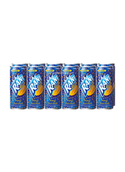 Rani Float Mango Fruit Drink with Real Fruit Pieces, 6 Cans x 240ml