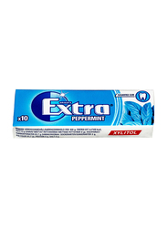 Wrigley Extra Gum White Chewing Gum, 10 Pieces x 14g