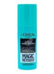 L'Oreal Paris Magic Retouch Instant Root Concealer Spray, Dark Brown, 75ml