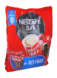 Nescafe 3-in-1 Classic Instant Coffee Mix, 40 Sticks x 20g