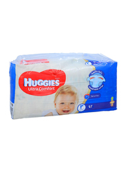Huggies Ultra Comfort Superflex Diapers, Size 3, 4-9 kg, Economy Pack, 42 Count