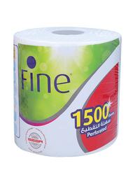 Fine Jumbo Roll, 1500 Sheets x 1Ply