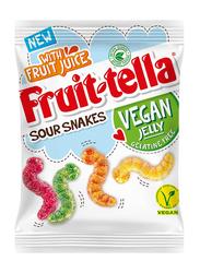 Fruittella Vegan Jellies Sour Snakes, 150g
