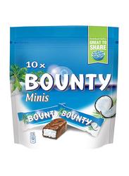 Bounty Mini Chocolates, 10 Pieces, 285g
